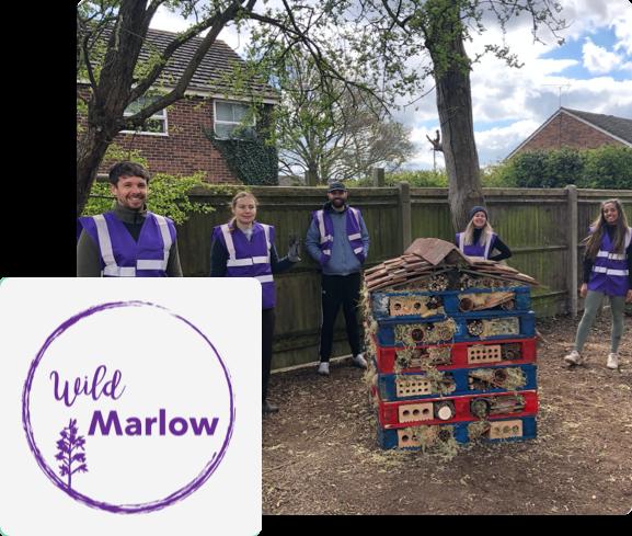 Wild Marlow volunteers